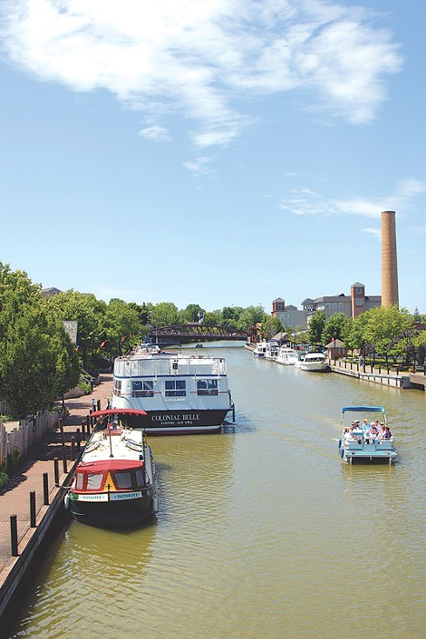 The canal in Fairport will be a beautiful spot in fall. - FILE PHOTO