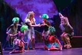 "PHOTO BY KEN HUTH - The cast of ""A Midsummer Night's Dream,"" currently on stage at Geva Theatre Center."