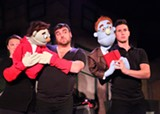 "The cast of Geva Theatre's ""Avenue Q,"" now on stage through July 21. PHOTO BY ROBERT TUCKER/FOCALPOINT STUDIO, COURTESY OF CAPE REP THEATRE"