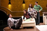 """PHOTO BY KEN HUTH - The cast of """"The Book Club Play,"""" now running on the Geva Theatre Mainstage."""