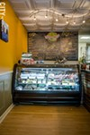 The deli counter at Park Ave Paninoteca.