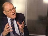 SONY PICTURES - The detained combatant: Robert S. McNamara in The Fog of War.
