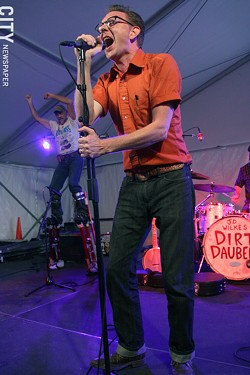 The Dirt Daubers performed at Abilene. - PHOTO BY FRANK DE BLASE