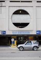 The East End garage needs repairs, or will have to close, says the city's parking chief. - PHOTO BY MARK CHAMBERLAIN