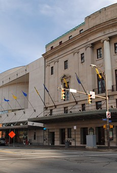 The Eastman Theatre, where the Rochester Philharmonic Orchestra performs most of its classical concerts.