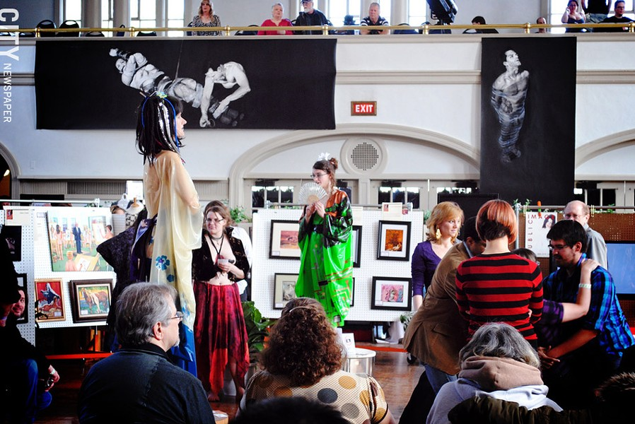 The Erotic Arts Festival will return April 5-6, 2013. - PHOTO BY MATT DETURCK