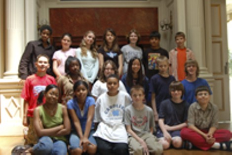 The explorers: Genesee Community Charter School's traveling sixth-graders. - KARA DOUGHMAN