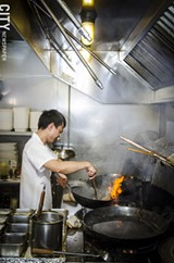 The head chef at Han Noodle Bar. - PHOTO BY MARK CHAMBERLIN