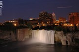 The High Falls contributed to Rochester's status as an early boomtown. - FILE PHOTO