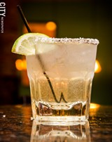 The house margarita at Salena's in Village Gate. - PHOTO BY MARK CHAMBERLIN