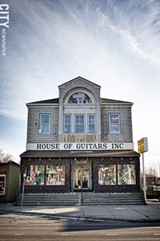 FILE PHOTO - The House of Guitars in Irondequoit.