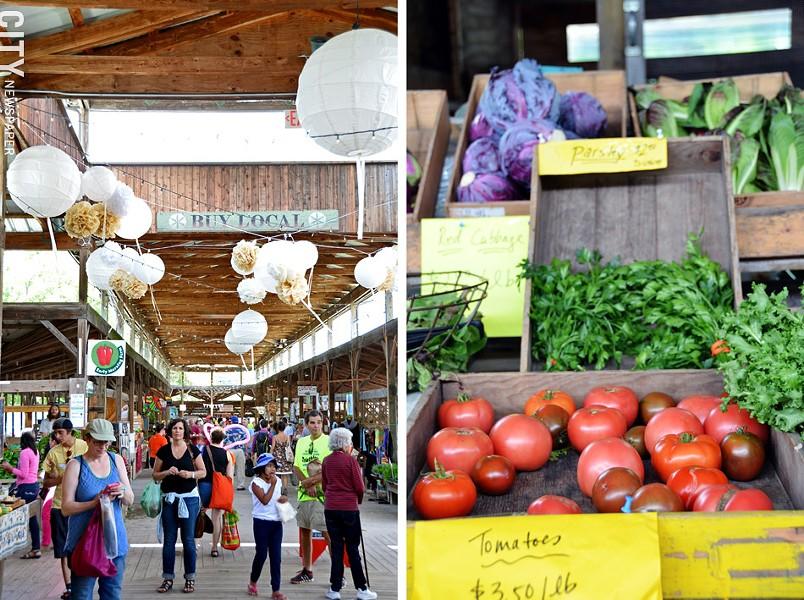 The Ithaca Farmers' Market. - PHOTO BY MATT DETURCK