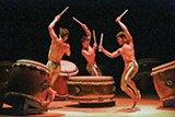 PHOTO BY TAKASHI OKAMOTO - The Kodo Drummers will perform as part of the new Eastman Presents series. Comedian Jason Alexander, Broadway star Bernadette Peters, and the Vienna Boys Choir will also be featured.