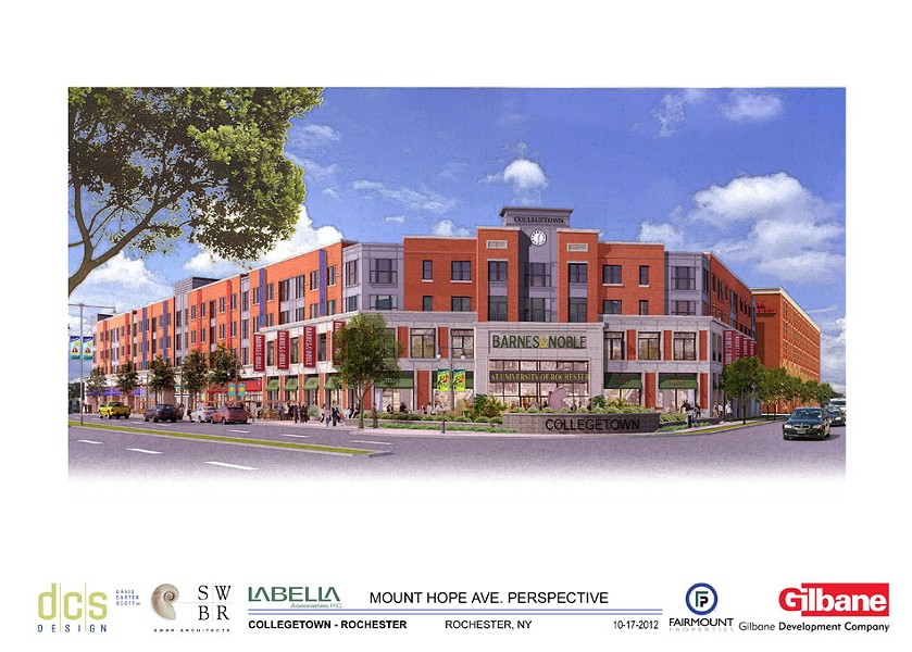The latest design of the College Town Barnes & Noble. - IMAGE PROVIDED