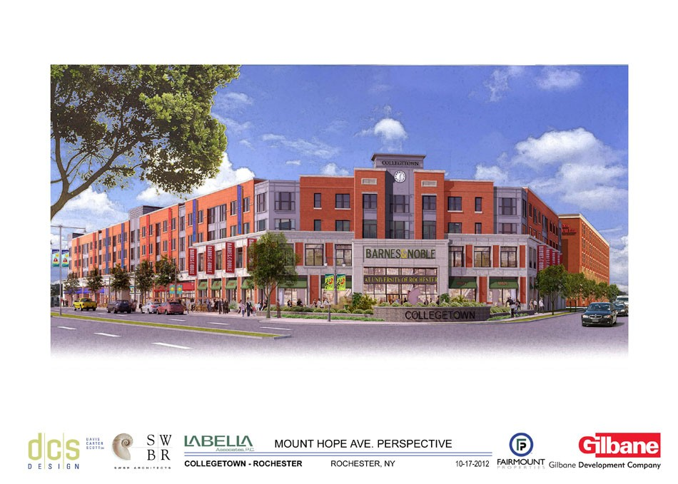Design changes made to 'plain' College Town B&N   News