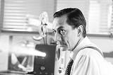 WARNER INDEPENDENT PICTURES - The legendary journalist: David Strathairn as Edward R. Murrow.