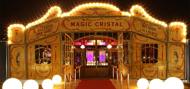The Magic Cristal Spiegeltent will be a new venue for the 2013 First Niagara Rochester Fringe Festival.