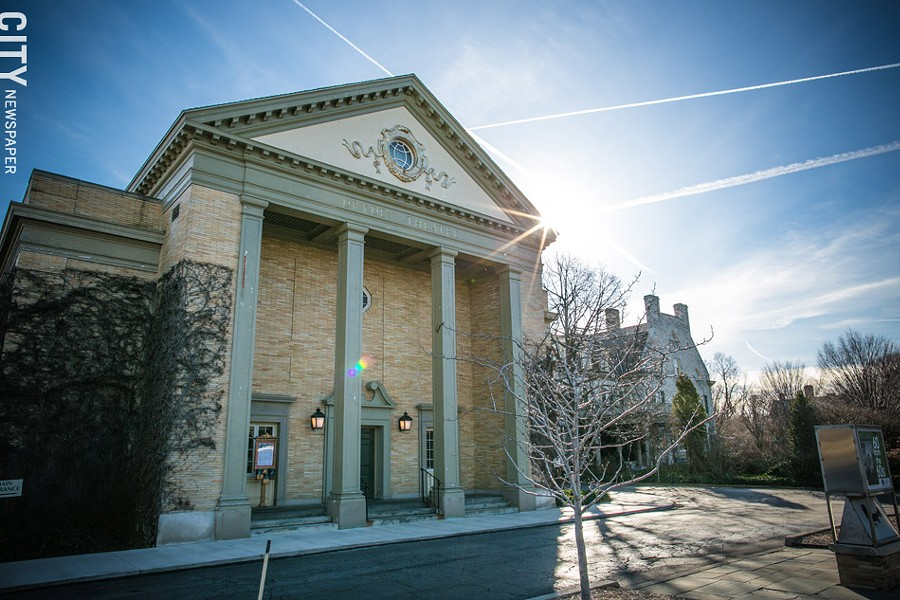The museum's Dryden Theatre will close in January and February for a major renovation, including the installation of a digital projector. - PHOTO BY MIKE HANLON