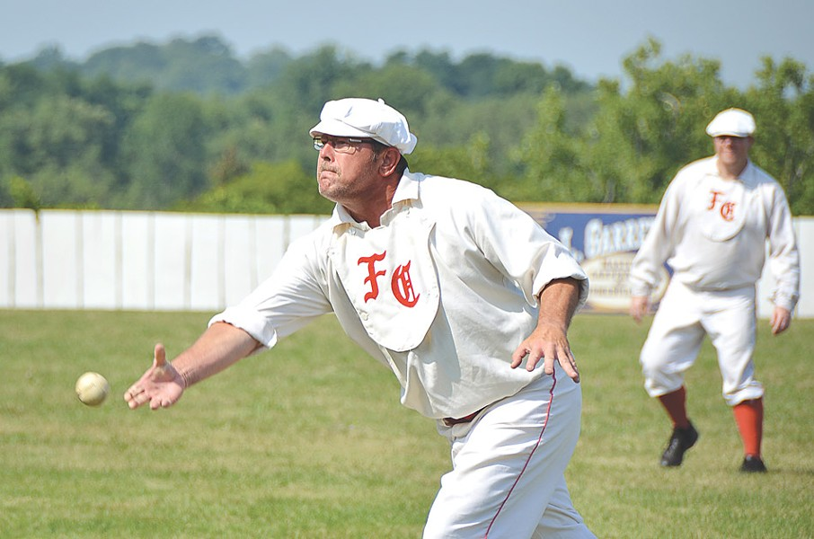 """The National Silver Ball Tournament celebrates old-timey """"base ball."""" - FILE PHOTO"""