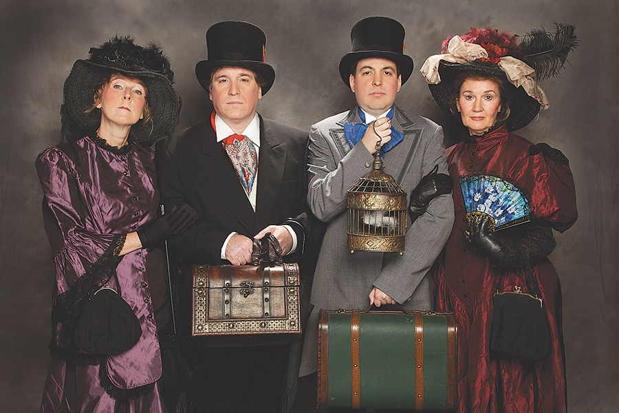 The Off-Monroe Players focus on producing the works of Gilbert & Sullivan. - PHOTO BY MARTIN NOTT