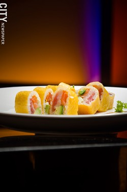 The Pink Lady roll at Umi. - PHOTO BY MARK CHAMBERLIN