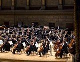 PHOTO COURTESY RPO - The Rochester Philharmonic Orchestra opened its season, last Thursday and Saturday nights, with a performance conducted by Ward Stare, and featuring violinist Midori.