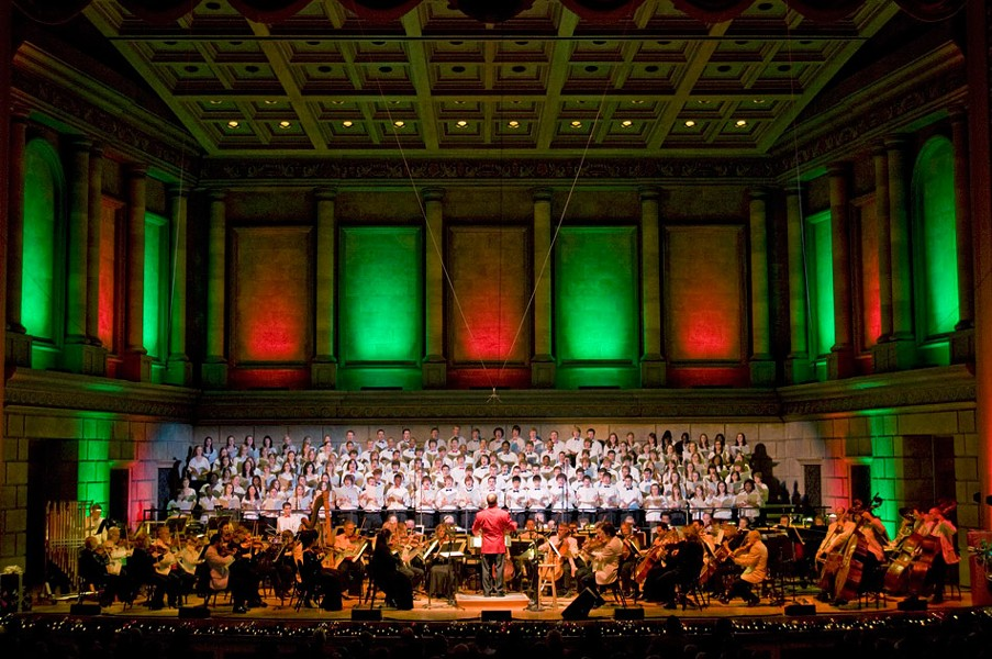 The RPO Gala Holiday Pops: December 20-22. - PHOTO PROVIDED