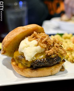The Sheridan Burger - PHOTO BY MATT DETURCK