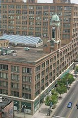 PHOTO BY MATT WALSH - The Sibley Building what's the best use for this important property - and who decides?
