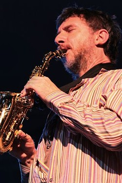 The The Sicilian Jazz Project performed Monday, June 24, at the Big Tent as part of the 2013 Xerox Rochester International Jazz Festival.