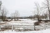 PHOTO BY MARK CHAMBERLIN - The Town of Chili has several large farms, including the Krenzer farm on Scottsville Road.