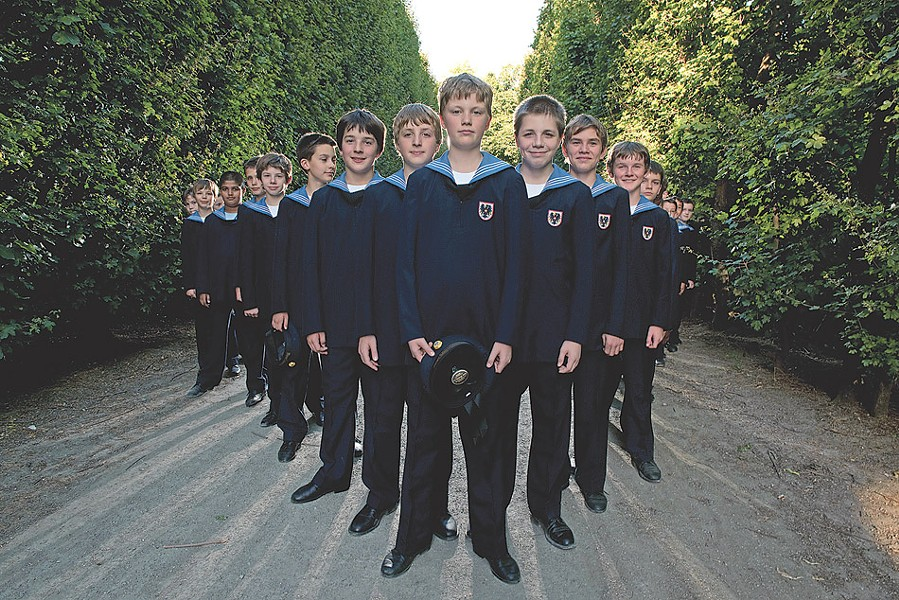 "The Vienna Boys Choir will perform a ""Christmas From Vienna"" program at Kodak Hall on Thursday, December 4. - PHOTO PROVIDED"