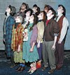 "The whizzers of awes: The cast of JCC's ""Urinetown."""