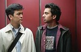 NEW LINE CINEMA - Theyre just so likable: John Cho and Kal Penn in Harold and Kumar.