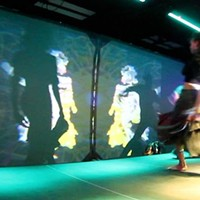 DANCE: Kinect the Dots This collaboration between RIT Projection Artists and FuturePointe Dance features improvised danced moves which are integrated into improvised digital projections. (Friday 9/20 6 & 7 p.m., Friday 9/27 5 & 6 p.m. at Little Theatre 1. $10) PHOTO PROVIDED
