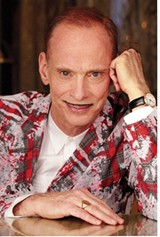 """PHOTO PROVIDED - This weekend indie filmmaking legend John Waters — the man behind """"Pink Flamingos"""" and """"Hairspray"""" — will perform his one-man show about the holidays. """"I guess I like Christmas because it can be such an emotional rollercoaster,"""" he says."""