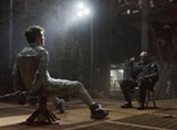 "PHOTO COURTESY UNIVERSAL PICTURES - Tom Cruise and Morgan Freeman in ""Oblivions."""