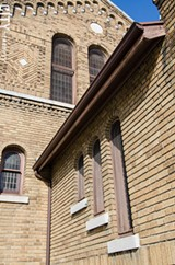 Trinity Emmanuel Presbyterian Church in the SWAN neighborhood is an example of Arts and Crafts design. - PHOTO BY MARK CHAMBERLIN