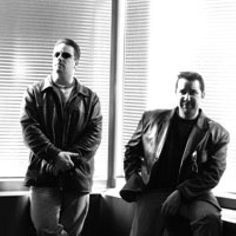 Trip Throttle: (left to right) Shawn Mott, Brian Robinson. - MICHELE DOERR
