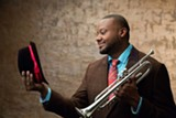 PHOTO BY JIMMY KATZ - Trumpeter Sean Jones will perform two concerts at Penfield High School this weekend.