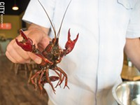What! Crawfish! serves food to shout about