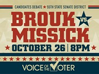 Voice of the Voter Debate - 55th State Senate District