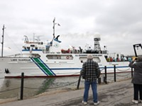 Aboard the Lake Guardian, scientists fish for the story of Lake Ontario