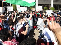 Protest in Rochester gathers in support of Palestine