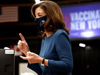 Vaccine mandate for schools not needed, Hochul says, but still on the table