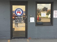 Disability rights advocates stage sit-in at county Republican headquarters
