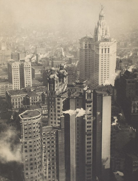 """""""New York from its Pinnacles"""" is included in Eastman Museum's major retrospective of the work of Alvin Langdon Coburn, on view through January 24. - PHOTO PROVIDED"""