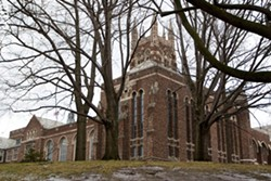 Colgate Rochester Crozer Divinity School's 22.5 acre campus near Highland Park is under contract to local developer Angelo Ingrassia. - FILE PHOTO