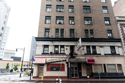 The Hotel Cadillac, which formerly housed low-income people, has been closed, adding to Rochester's housing shortage. - PHOTO BY JEREMY MOULE