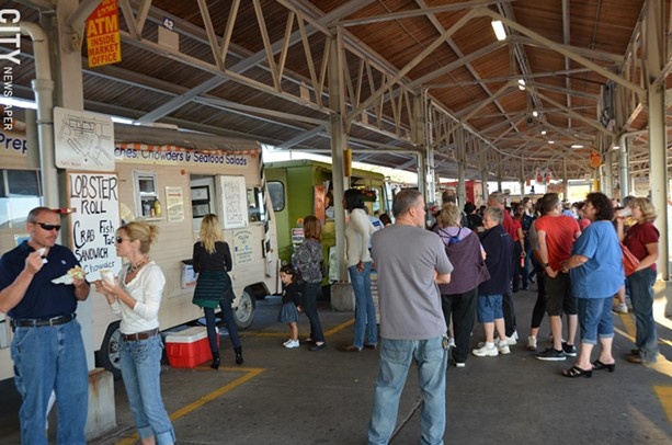 The Food Truck Rodeo at the Rochester Public Market is on the last Wednesday of every month, from April through September. - FILE PHOTO